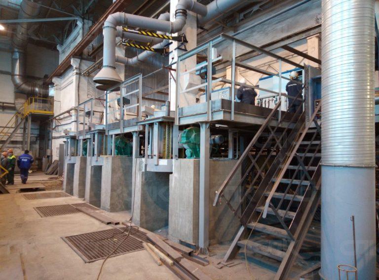 Плавильные печи  до 1 тонны на редукторе в стальном корпусе