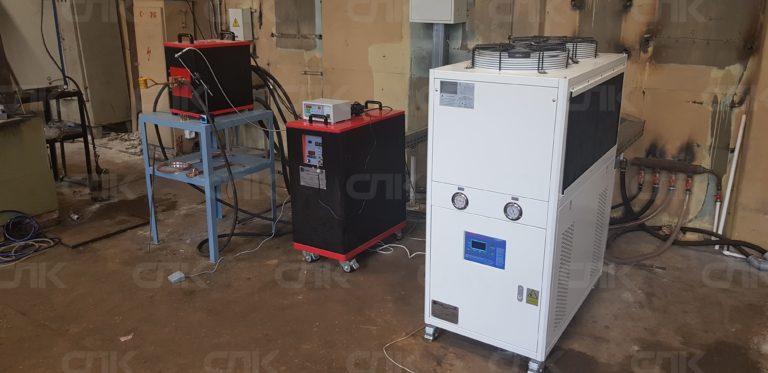 Установка ТВЧ индукционного нагрева с доставкой по СНГ