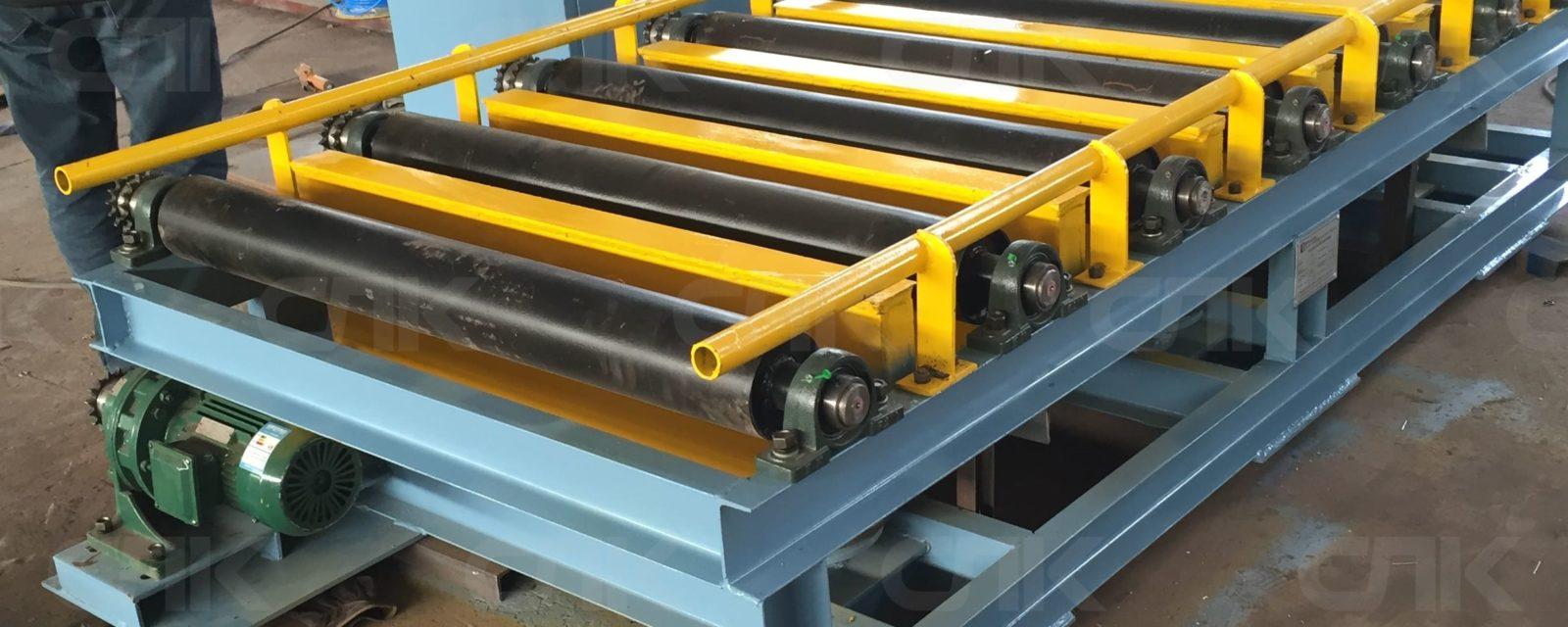 Оборудование с рольгангами как осуществляется пуск конвейера