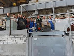 Индукционная плавильная печь GWJ 2-1000-0,2 в г. Воронеж