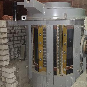 Запуск 2-х индукционных плавильных комплексов GW 0.49-350-1