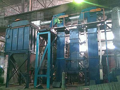 Линия регенерации ХТС мощностью 7-9 тонн в час