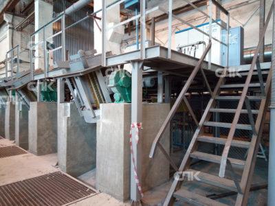 Поставка 3-х плавильных комплексов емкостью 490 кг