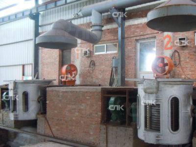 Индукционная плавильная печь для меди в г. Архангельск