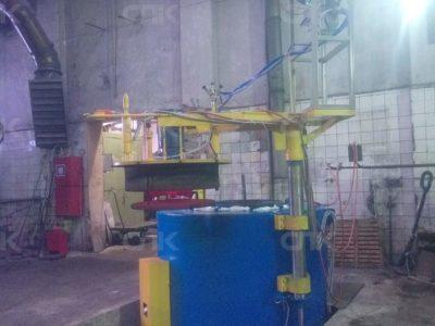 Поставка и запуск шахтной печи ПШ-6.12/9,5 ЦМ для цементации и нагрева под закалку