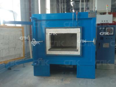 Поставка и запуск камерной электропечи с защитной атмосферой газа