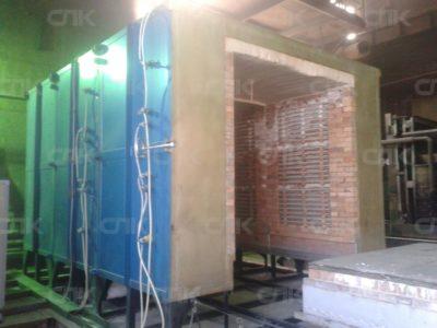 Ввод в эксплуатацию термической печи с выкатным подом
