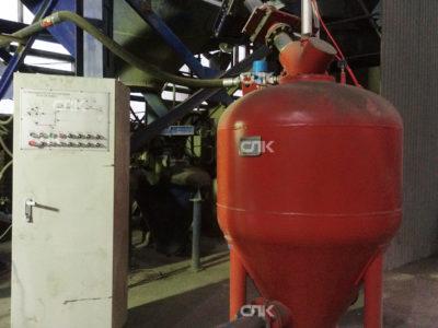 Запуск пневмотранспорта ХТС производительностью 20 т/час в г. Пенза