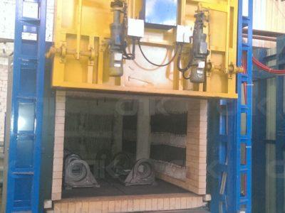 Запуск термической печи в Кемеровской области