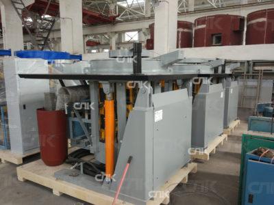 Запуск плавильной печи и станции охлаждения GW 0.5-350-1 и станции охлаждения FFB-25 в г. Киров