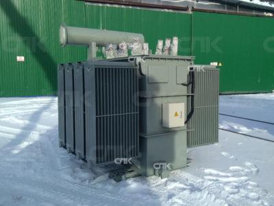 Поставка трансформатора 3000 кВА индукционных плавильных печей в Московскую область
