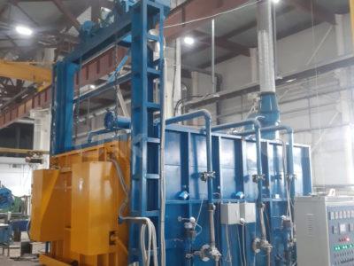 Запуск термической газовой печи в г. Челябинск